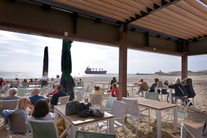 Zand Paviljoen Pier 7