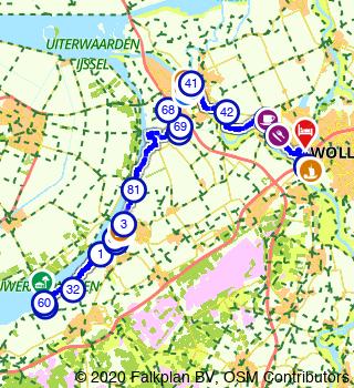 HanzeTour 2021 Elburg 3 Daagse FIETSDAG I