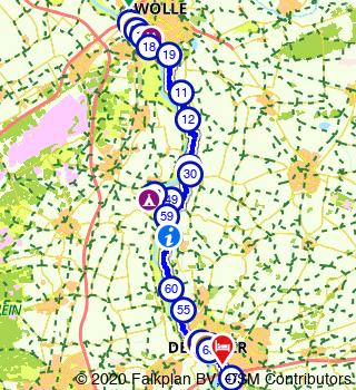 HanzeTour 2021 Zwolle 3 Daagse FIETSDAG I