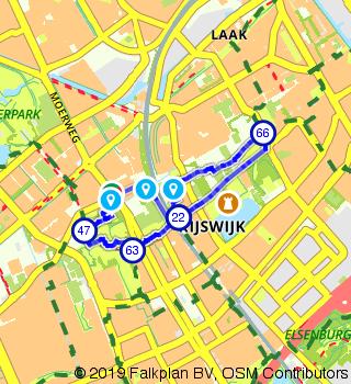 Walking along Huis te Werve