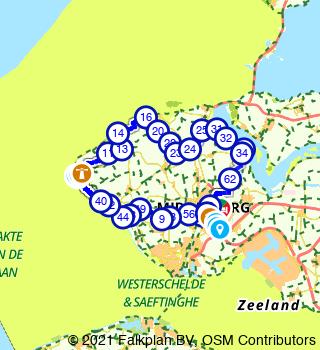 Round Domburg and Veere from Middelburg