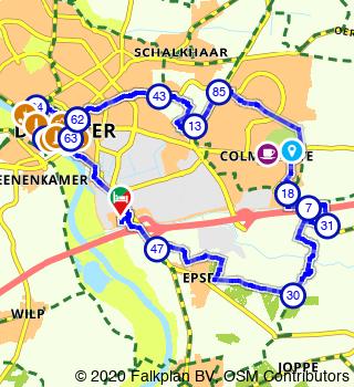 HanzeTour 2021 Deventer 3 Daagse Welkomstdag