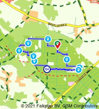 Walking tour of Raakeind and Ulvenhoutse Bossen