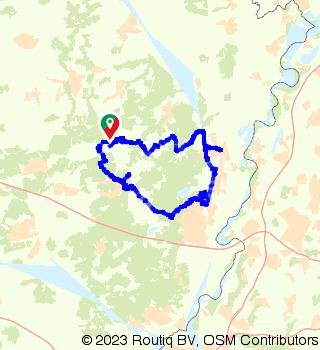 E-bike route Mechelse Heide and Dilsen-Stokkem