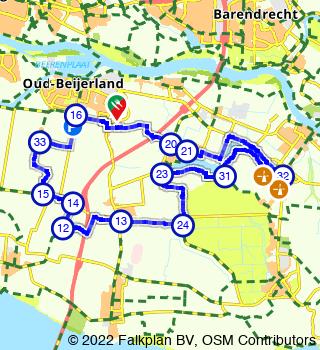 Door de omgeving van Dordrecht