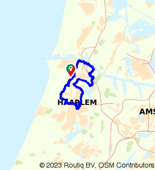 Genieten van het groen in Bloemendaal en hartje Haarlem