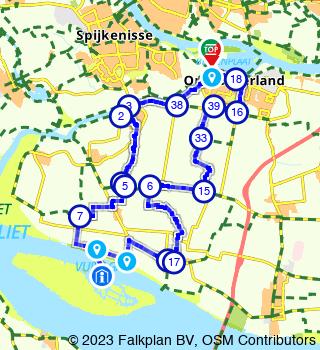 Tiengemetenroute