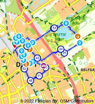 La Brasserijroute : promenade � travers Delft et le bois de Delft