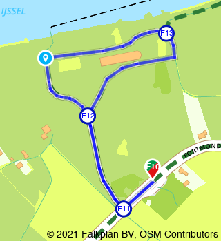 HanzeTour Fortmond Duursche Waarden 1,3 km