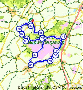Aller-retour Dwingelderveld depuis Dwingeloo