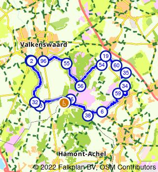 Visite de Malpie, Leenderbos et Achelse Kluis