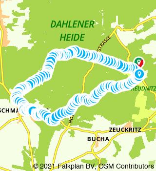 Randonn�e circulaire sur la Dahlener Heide