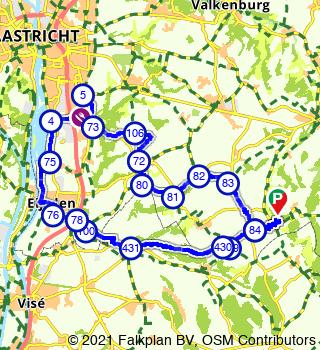 Visite de Voerstreek et Eijsden depuis Slenaken