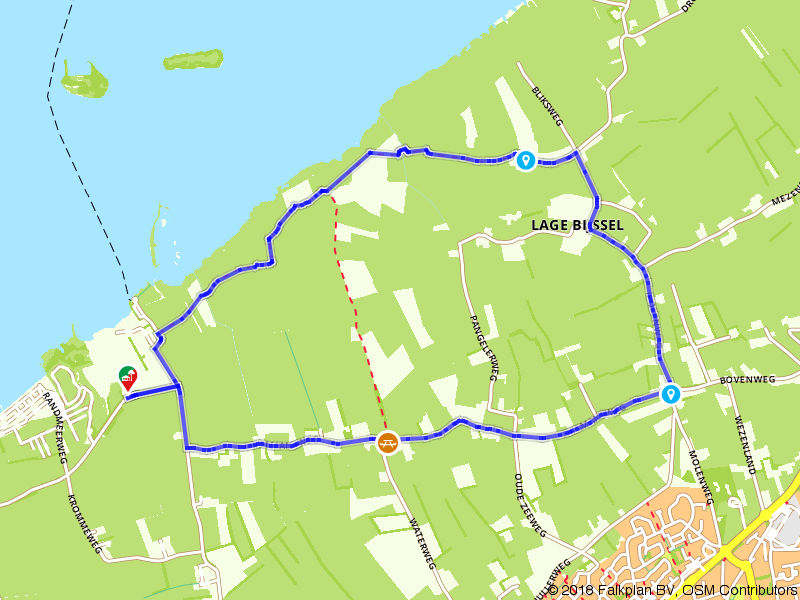 Een wandeling door de polders bij Nunspeet