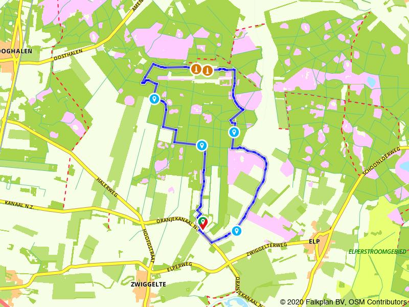 Hart van Drenthe: wandelen bij Westerbork