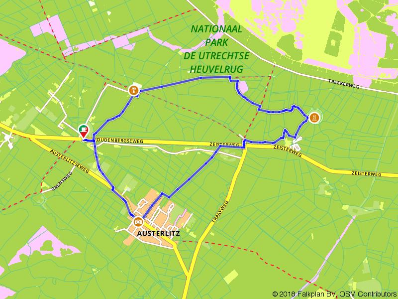Wandelen door Nationaal Park Utrechtse Heuvelrug
