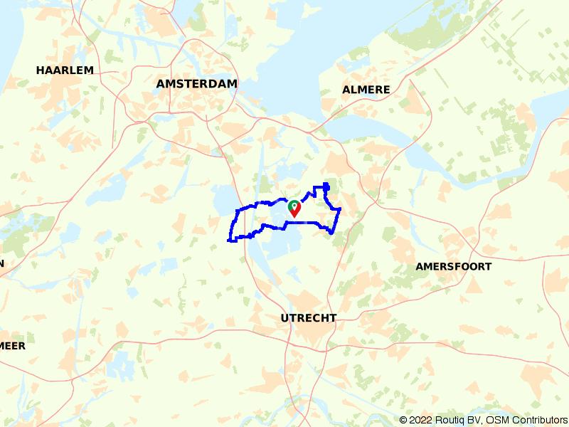 Rondje Hilversum en Loosdrechtse Plassen