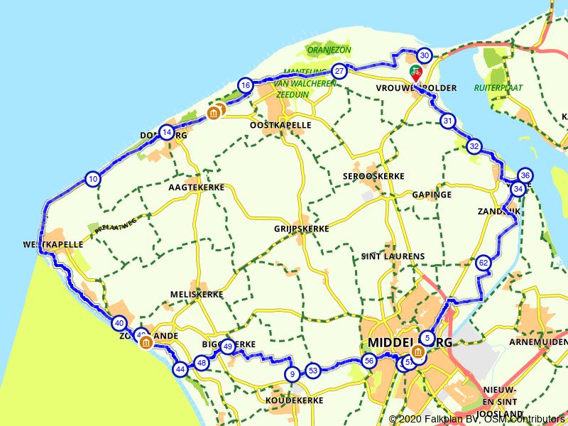 Rondje Walcheren: highlights aan de kust