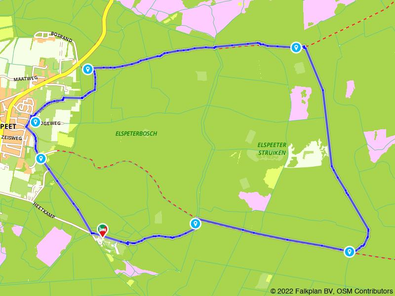 Boswandeling: Eslpeet en de Elspeetse Heide