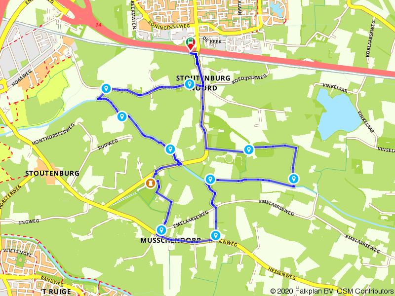 Wandelrondje van Hoevelaken naar Stoutenburg