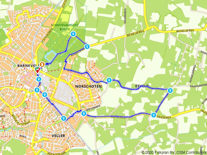 Rondje De Schaffelaar: Barneveld en boerenland