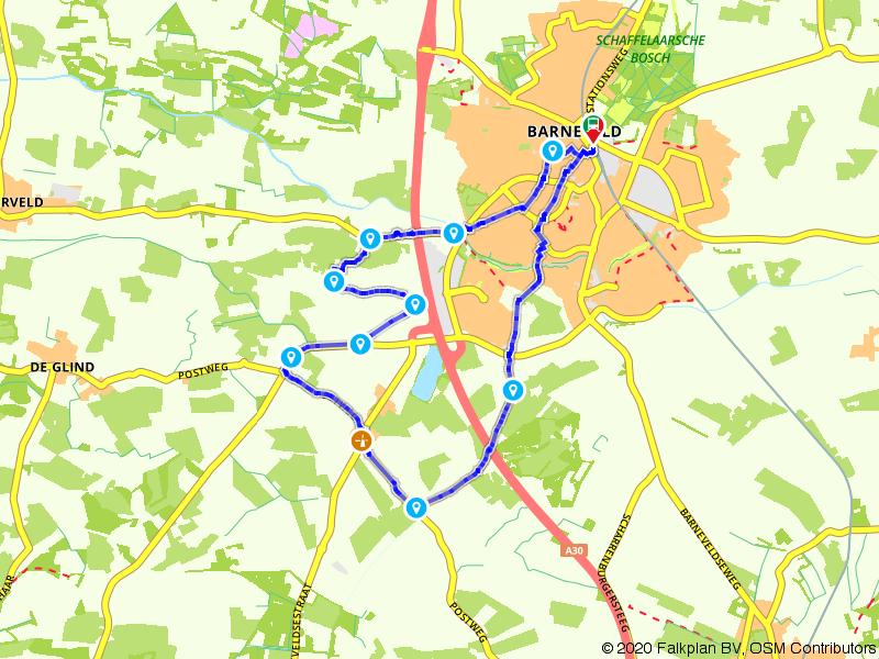 Lekker lange molenroute bij Barneveld