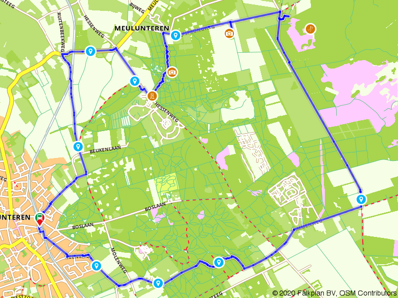 Treinwandelen: Luntersche Buurtbosch en de Celtic Fields