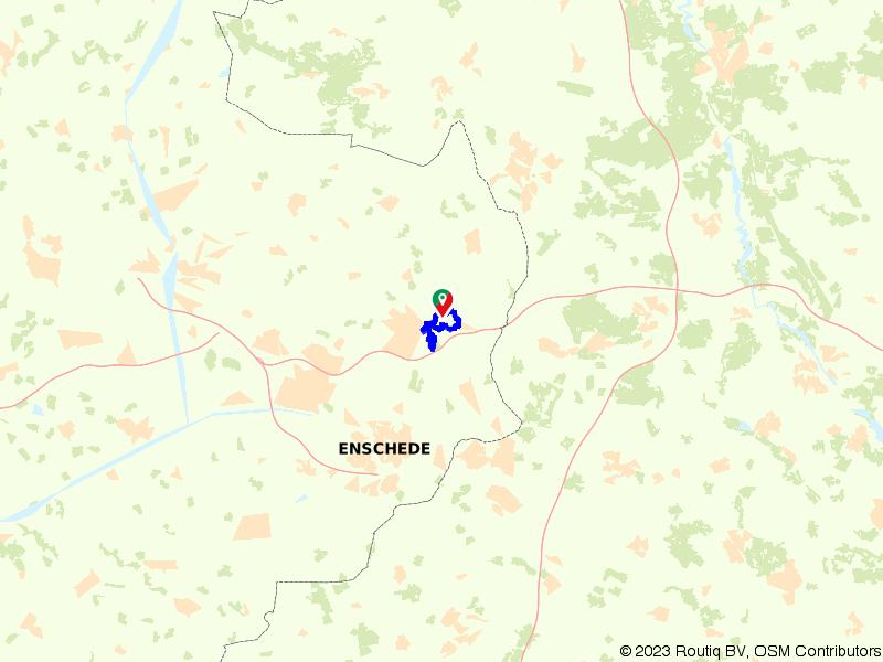 Wandelroute Landgoed De Wilmersberg in De Lutte