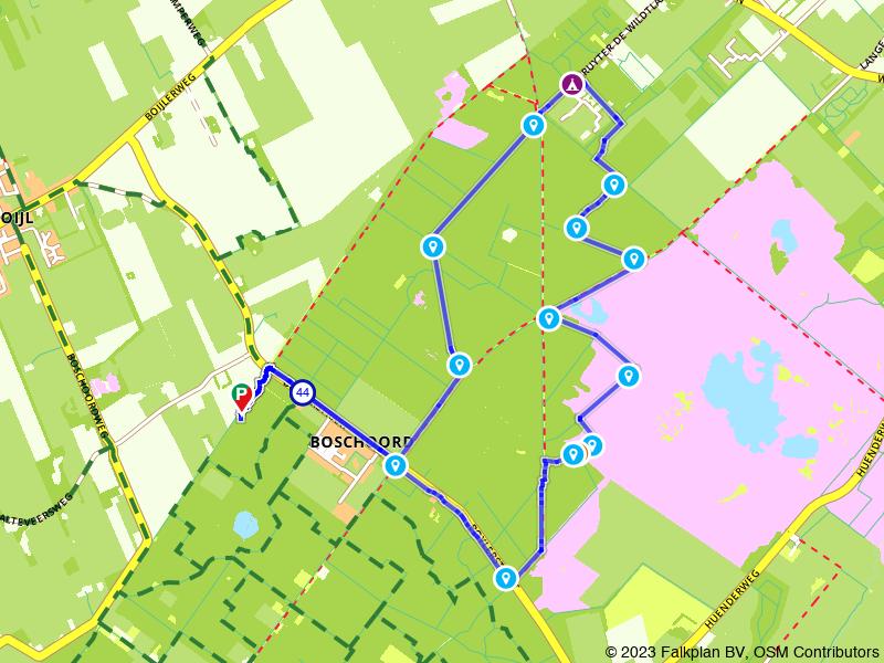 Wandelroute Drents-Friese Wold