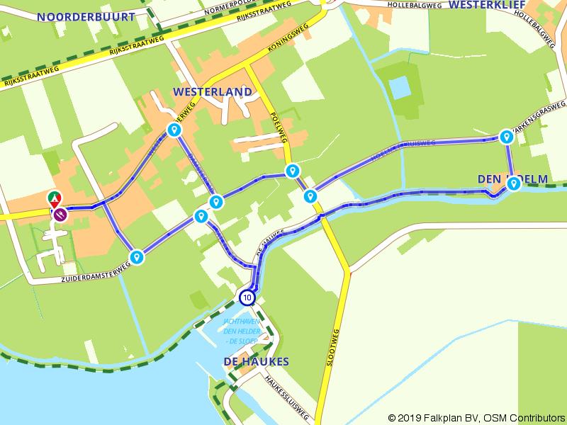 Wieringen: Wandelen door Westerland en Den Hoelm