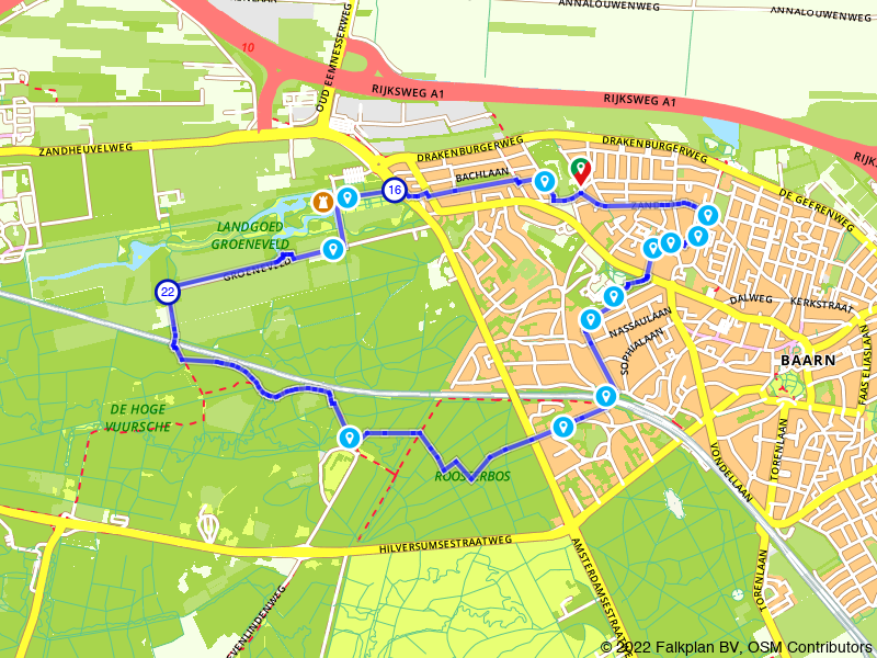 Rondje Baarn en Kasteel Groeneveld