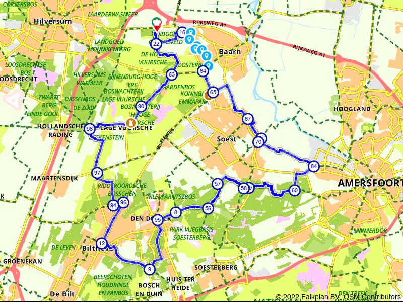 Rondje Baarn en Vuursche Heide