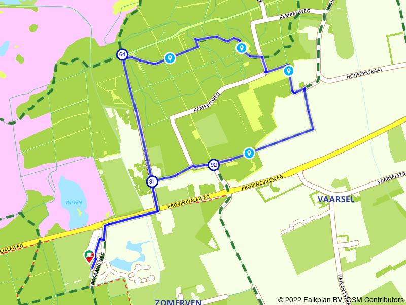 Lekkerbekkenroute: rondje Hoijse Hoeve & Soete Inval