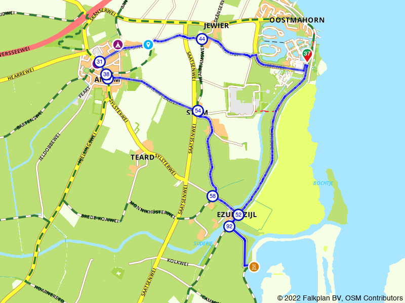 Rondje Lauwersmeer: Anjum en uitkijkpunt