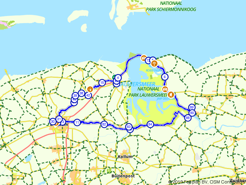 Rondje Lauwersmeer en Dokkum