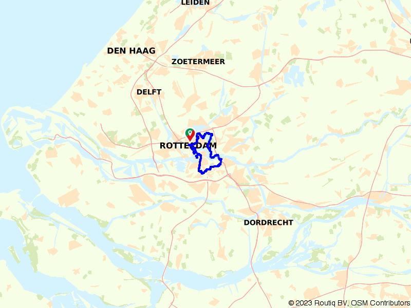 Rondje Rotterdam: Kop van Zuid en Nessedijk