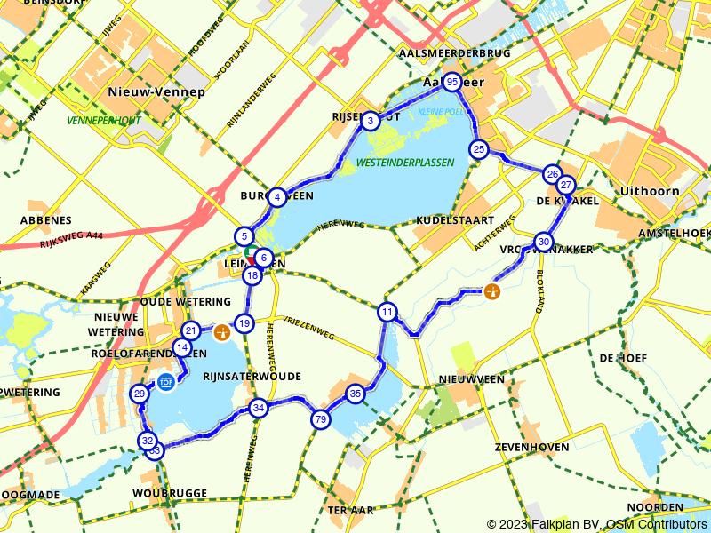 Rondje Braassemermeer en Westeinderplassen
