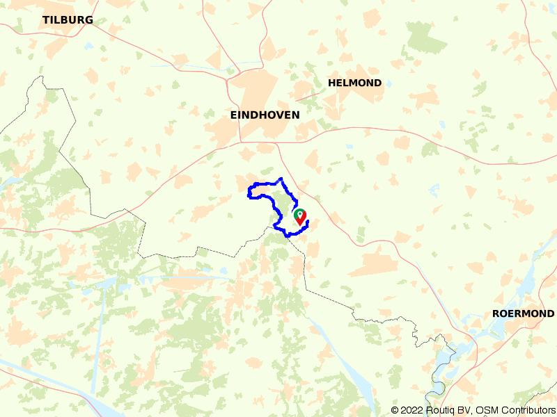Fietsroute vanuit het Wapen van Cranendonck