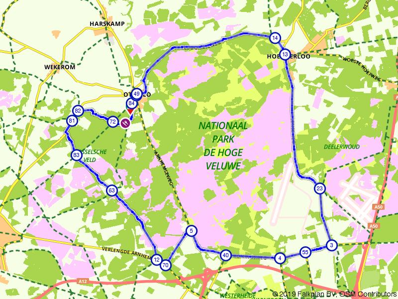 Rondje Nationaal Park de Hoge Veluwe