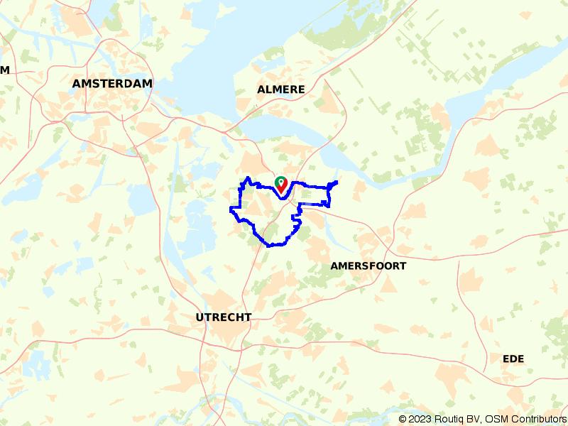 Avontuurlijke fietsroute rondom Hilversum