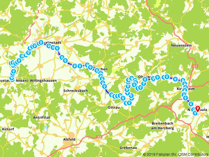 Rotkäppchenland Bahnradweg