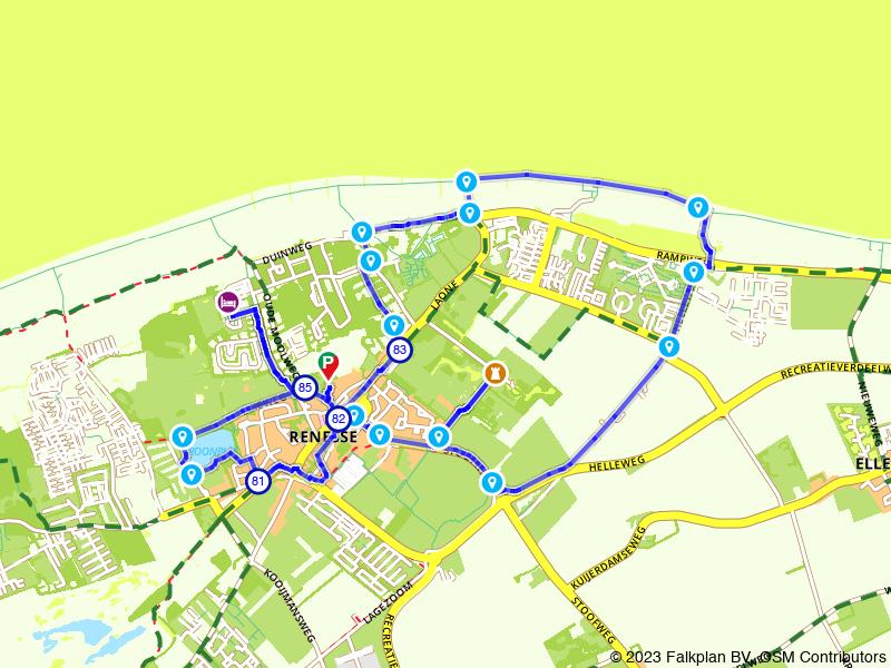Rondje Renesse: Vroonplas, Moermond en strand