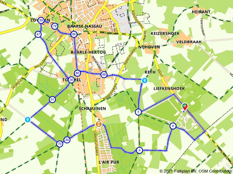 Rondje Baarle: in het spoor van de grenswachter