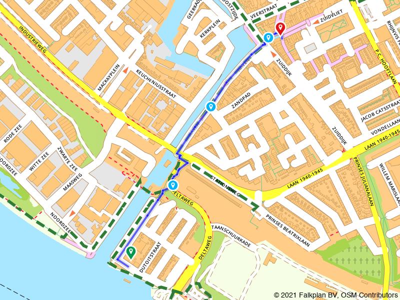 Boeiende route Maassluis