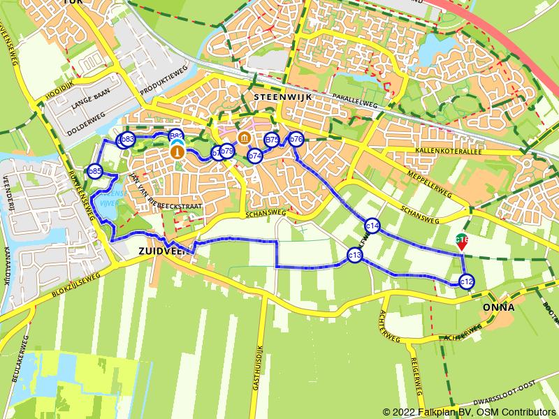 Stadswandeling Steenwijk