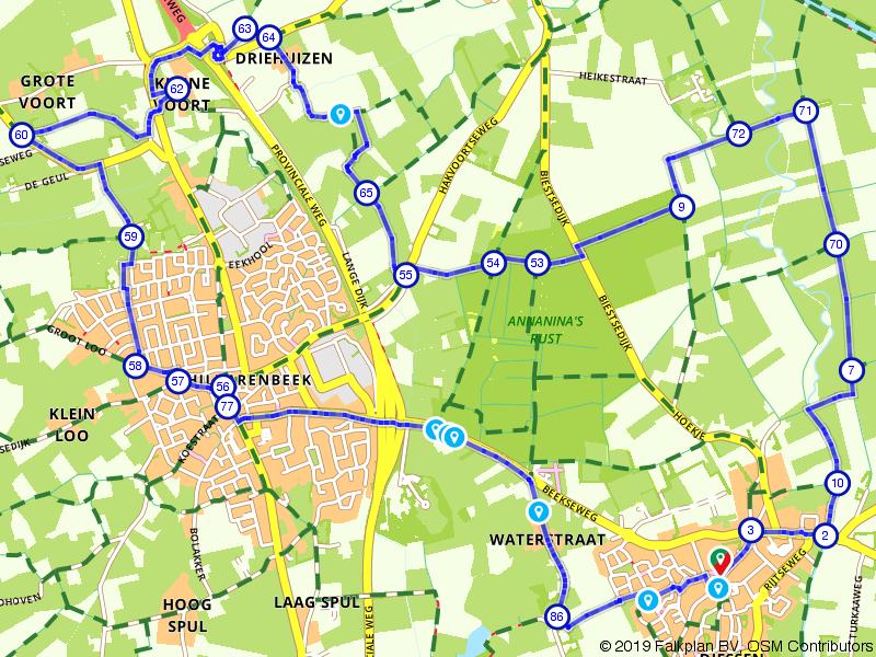 zondag 26-5-2019 15 km