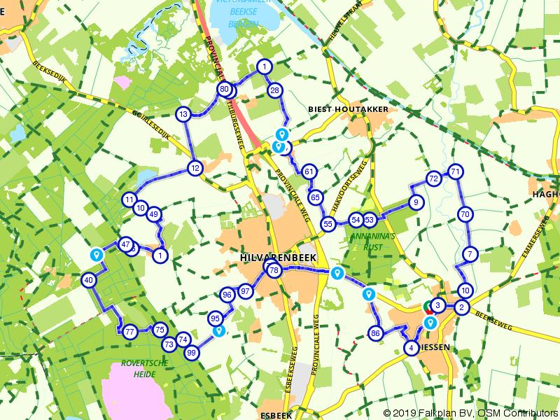 Zondag 26-5-19 25 km