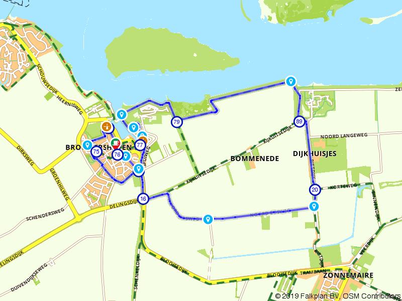 Rondje wandelen in Brouwershaven