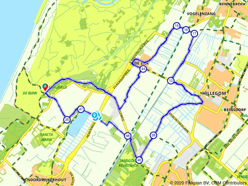 Bollenroute: fietsen in de bollenstreek