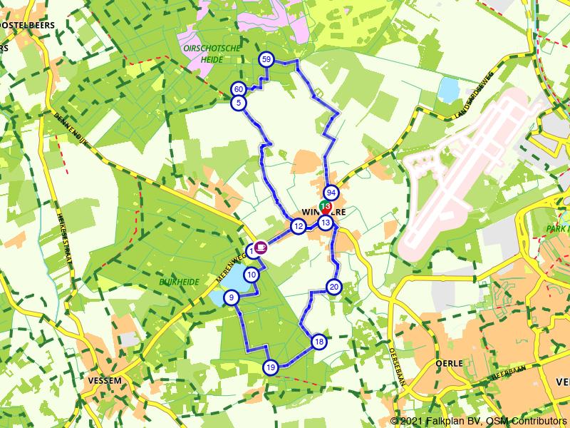 Een achtje wandelen vanuit Wintelre